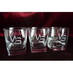 24 szklanki do WHISKY z Twoim LOGO