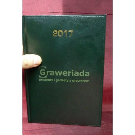50 x Kalendarz Książkowy A5 dzienny / tygodniowy z Grawerem Logo