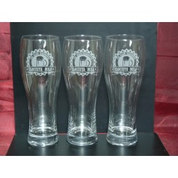 24 szklanki do piwa z Twoim logo